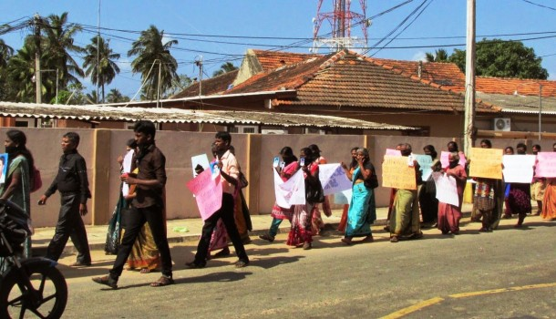 """Enforced Disappearances of Tamils - """"They tried to bury us. They didn't know we were seeds"""""""