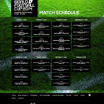 ConIFA World Football Cup Match Schedule