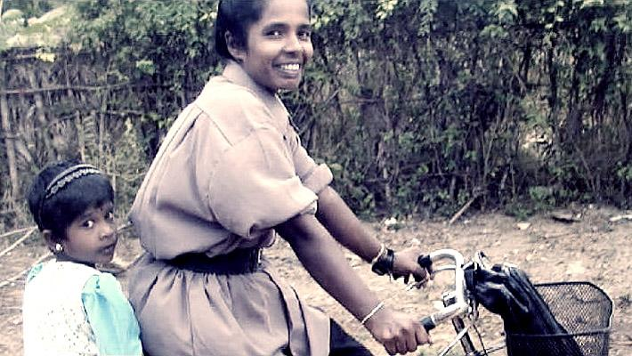 Tamil women's oppression post-2009 is in stark contrast with Tamil women's liberation with the LTTE, as shown in this image. Image Source: http://www.eelamview.com/2013/07/29/women-under-ltte-cannon-fodder-or-womens-liberation/