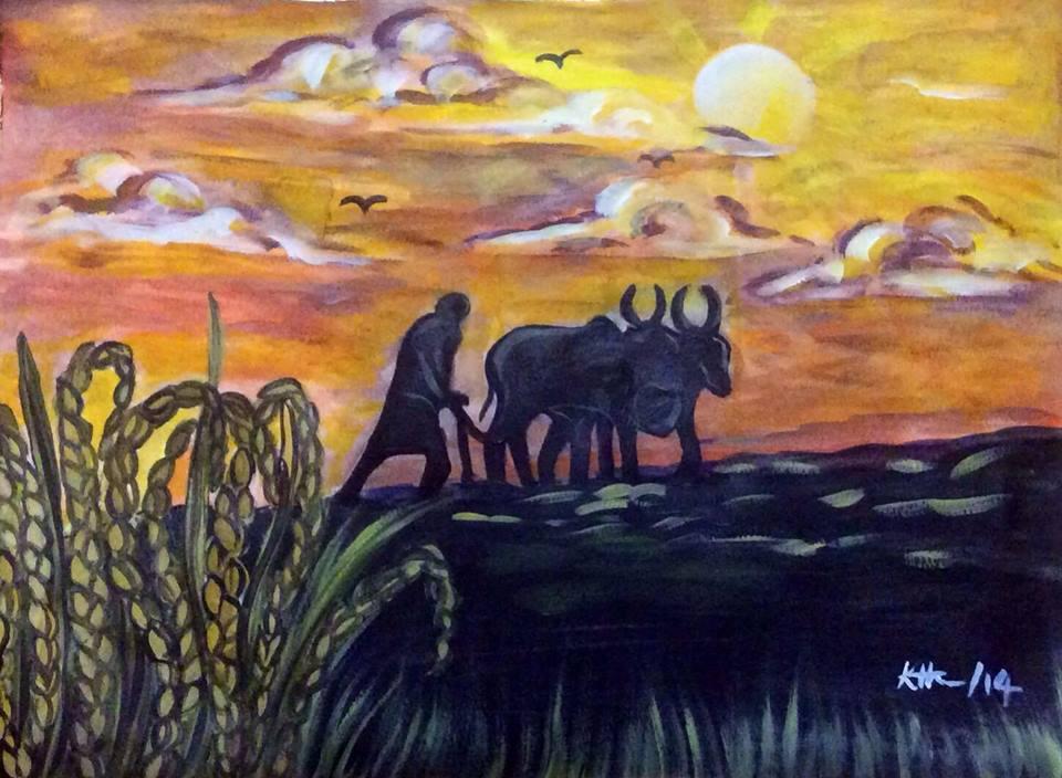 Painting by Keera Ratnam