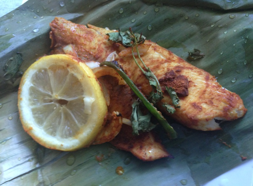 Spicy Ginger-Lemon Tilapia